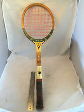 Vintage Wilson Victory Mary Hardwick Wood Wooden Tennis Racquet