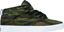 Globe Shoes Lace Up Childrens shoes Motley Mid Kids green camouflage