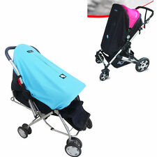 BABY STROLLER PUSHCHAIR MOSQUITO NET SUN SHADE BUGGY WIND SHIELD COVER 70*55CM