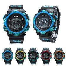 2015 Cool Mens Boys Watches Waterproof LED Quartz Alarm Date Sports Wrist Watch