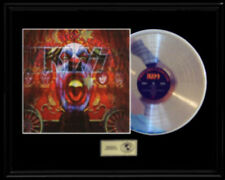 KISS PSYCHO CIRCUS 3D COVER RARE GOLD RECORD PLATINUM DISC ALBUM LP