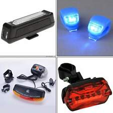 Lamp Torch Bicycle Bike Cycling LED Light Headlight Safety Front Rear Taillight