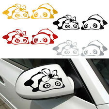 Panda Pattern Design 3D Decoration Sticker For Car Side Rearview Mirror Decals