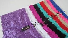 6 Sexy Lace Underwear ROSE Intimates Beautiful Color Style#:8461;Size: S; M