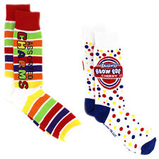 Charms Candy Blow Pop Teen Adult 2 Pack Crew Socks 1674ID