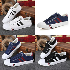 Korean Style Man's Canvas Dunk Low Flattie Casual Sneakers Lace-up Leisure Shoes