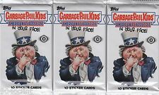 2016 GARBAGE PAIL KIDS AMERICAN AS APPLE PIE IN YOUR FACE HOBBY 3 PACKS SEALED