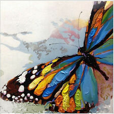 "NO Frame/Pure Hand-painted Canvas Oil Painting Art ""Butterfly"""