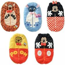 New Minnie Mouse,Mickey,Pooh,Stitch,Tigger Baby Sleeping Bag 0-12 mths