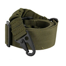 Adjustable Tactical Point Airsoft Paintball Rifle Sling HuntGun Strap Cord 140CM