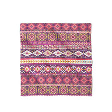 Girly Aztec Tribal Geometric Satin Style Scarf - Bandana in 3 sizes