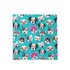 Puppy Party Satin Style Scarf - Bandana in 3 sizes