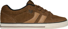 Globe Sneaker trainers Loafer Lace-up Skater Encore-2 brown leather Rubberband