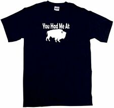 You Had Me at Buffalo Silhouette Kids Tee Shirt Pick Size Color 2T-XL