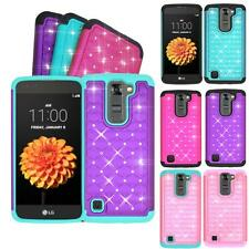 Phone Case For Straight Talk LG Treasure 4g LTE Dual-Layer Crystal Rugged Cover