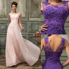 PLUS SIZE 20-26 Women's Formal Evening Dress Bridesmaid Prom Party Cocktail Gown