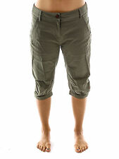 Maloja Cycling shorts 3/4 Trousers Walkshort LarixM. green Stretch Belt loops