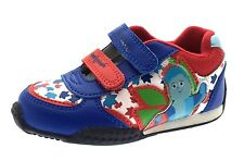 In The Night Garden Trainers Boys Iggle Piggle Velcro Sports Shoes Kids Size
