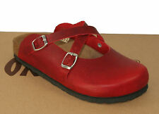 Oxygen Footbed Clog London Red sizes 37-41