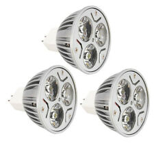 9W (3x3W) Dimmable Epistar LED Lamp Bulb MR16 GU10 E27 Warm Cool Ceiling Light