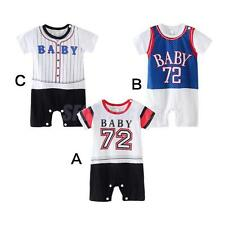 Infant Outfits Newborn Kid Romper Jumpsuit Baby Bodysuit Printed Toddler Clothes