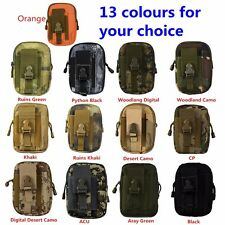 aterproof Outdoor Camping Hiking Military Tactical Waist Bag Pack Pouc