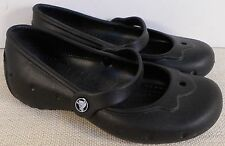 CROCS CHILDREN'S BLACK ALICE GIRL'S SLIP ON SHOES NEW IN BOX
