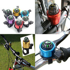 New Bike Road Bicycle Cycling Handlebar Bell Ring Horn With The Compass