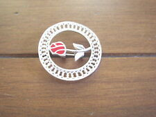 Wild Irish Rose Sterling Silver Brooch and Pendant Combination