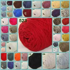 Sale New 1 Cone 400gr Soft Worsted Cotton Chunky Super Bulky Hand Knitting Yarn
