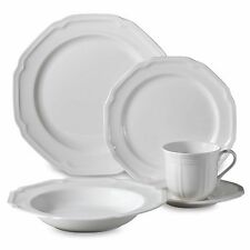 Mikasa Antique White 5-Piece Place Setting Kitchen Plates Mugs Bowls Porcelain