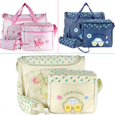 4 PCS Flower Cute Baby Diaper Nappy Changing Bag Many Color