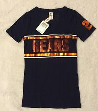 VICTORIAS SECRET PINK NFL Chicago Bears BLING NWT Shirt Size XS