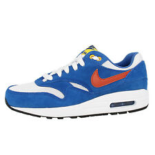 NIKE AIR MAX 1 GS SHOES TRAINERS WHITE BLUE ORANGE 555766-108 LTD BW CLASSIC 90
