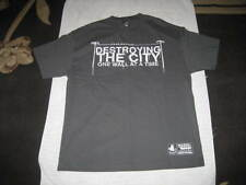 New Gray Old English Brand - Destroying the City tShirt - size XL - West Coast