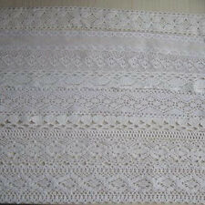5 Yards cotton crochet delicate lace trim 35mm 38mm 40mm 45mm 48mm Wewing Edging