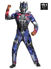 Kids Transformers Optimus Prime Classic Muscle Fancy Dress Costume