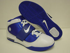NEW Mens NIKE Lebron Zoom Soldier IV TB 407630 103 White Blue Sneakers Shoes