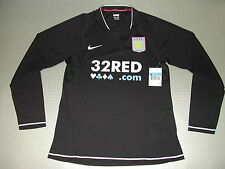 player Jersey Aston Villa 3rd LS 07/08 Orig Nike size XL new player issue