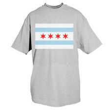 t-shirt chicago flag various colors and sizes fox outdoor 63-852