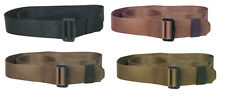 bdu belt uniform nylon metal buckle various colors fox 50-40