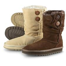 Women's Skechers 47221 Boots CHOC Brown or Sand Keepsakes Freezing Temps SUEDE