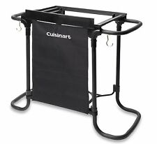 Cuisinart Barbeque Portable Grill Stand Charcoal Cooking Standing Outdoor Table