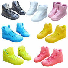 Hot Women Lady High Top Hip-hop Sport shoes Ankle Boots Casual Trainer Sneakers