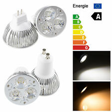 Spot Lamp Bulb Energy Saving Warm Cool White Non-dimmable 9W GU10/MR16 LED Light
