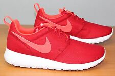 NIKE ROSHE RUN GS GYM RED BRIGHT CRIMSON 599728-602 Grade School 3.5 4 7