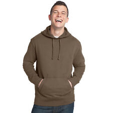 Men's District Vintage French Terry Pullover Hoodie Light Mocha Size 4XL DT132