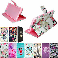 Flip Book Phone Leather Holster Card Wallet Case Cover Skin For Sony Xperia Z5