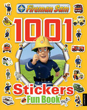 NEW - FIREMAN SAM  - 1001 STICKERS activity FUN book 48 pages