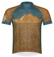 Primal Wear Heiro Pyramids Egypt Cycling Jersey Men's Short Sleeve bike bicycle